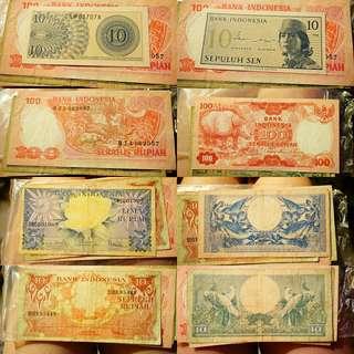 Uang RI jadul