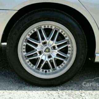 PERDANA V6 Executive Chrome Rim Cap 1 Set