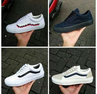 Vans old skoll for man premium Quality 100%