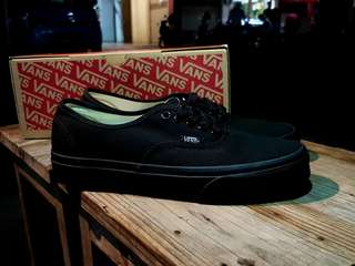 VANS AUTHENTIC FULL BLACK ORIGINAL