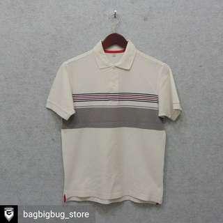 UNIQLO Stripe Poloshirt -Size: S
