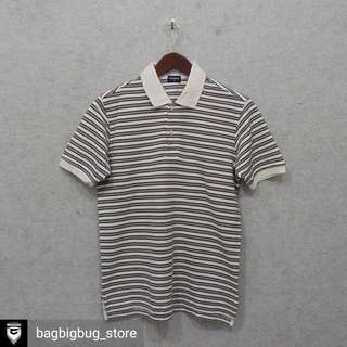 UNIQLO Stripe Poloshirt -Size: S fit M