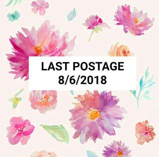 Last Postage Before 8/6