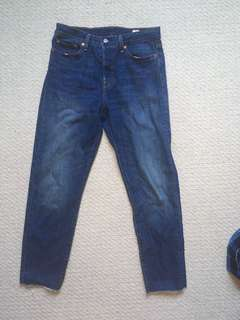 Dark wash levy's jeans