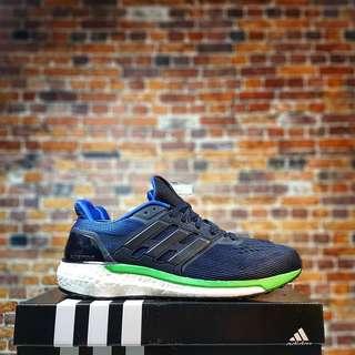 Adidas SuperNova Boost Midnight Navy Green Black