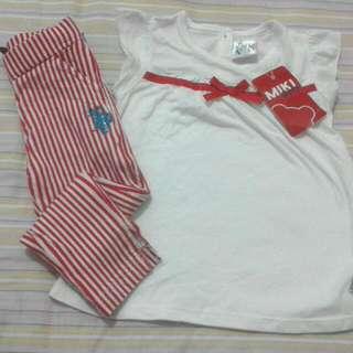 Raya : Polo baby pant & miki baby shirt