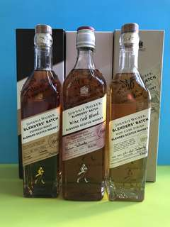 Johnnie Walker Blenders Batch 三支