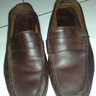 Sepatu kulit Clark original