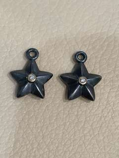 Pandora Stella Diamond Compose Earrings - Retired HTF 290659D
