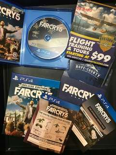 Far Cry 5 Deluxe Edition (PS4 Code unredeem)