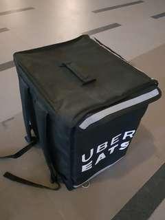 Uber Eats black thermal bag