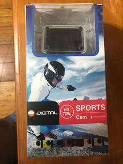 HD Sports Cam Action camera.