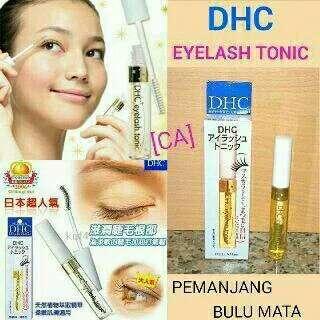 DHC eyelash tonic [serum pemanjang bulu mata]