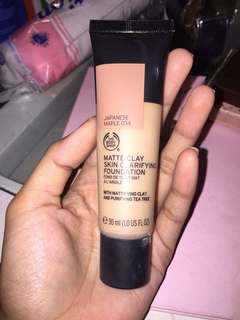 matte clay foundation