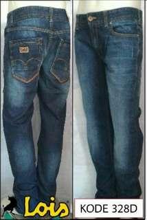 LOIS JEANS ORIGINAL - celana panjang pria slimfit stretch SLS 328 D