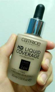 Catrice HD Liquid Foundation