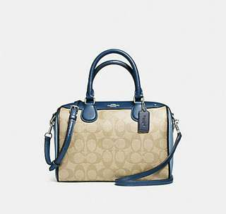 COACH BANNET LIMITED BLUE