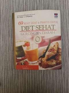 Buku resep diet golongan darah o  #mausupreme