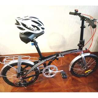 FOLDABLE MOUNTAIN BIKE BICYCLE. LETTING GO CHEAP!