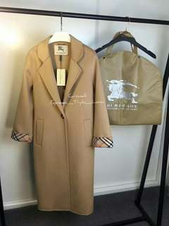 Burberry Women Long Coat