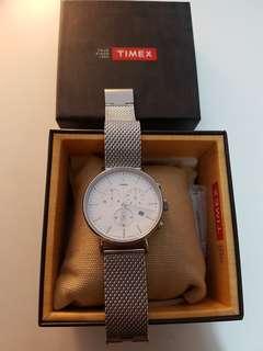 Timex Fairfield Chrono Mesh Metal Watch [Like New]