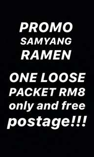LOOSE PACKET SAMYANG RAMEN (ORI OR CHEESE)