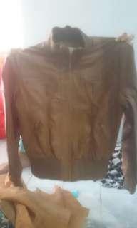 Jaket kulit #mausupreme
