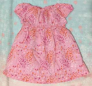 H&M Baby Dress Floral Pink