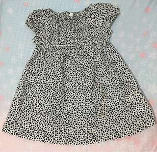 H&M Baby Dress Heart Pattern