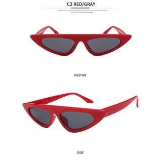 Kacamata Retro (red)