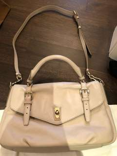 Marc by Marc Jacobs cream flap bag