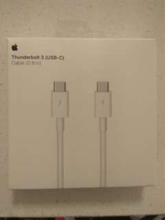 Apple Thunderbolt 3(USB-C) cable (0.8m)