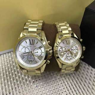 Mk watch couple athentic