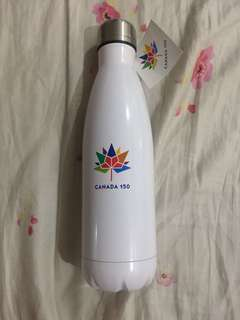 Canada 150 White Water Bottle
