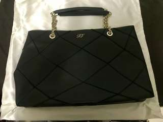 Roger Vivier Black Leather Bag