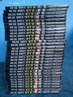 Komik Dear Boys act 2, full volume 1- volume 30