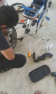 Repairing Any Service For E-Bike