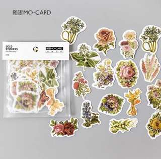 [Stickers] #27 Flower Garland Stickers for diary and scrapbooking