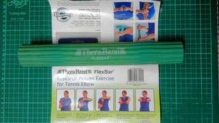 Theraband flexbar (Green) for tennis elbow