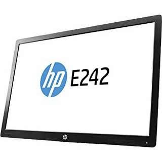 """HP EliteDisplay E242 24"""" LED Monitor Head (No Stand)"""
