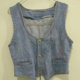 Rompi Jeans / outer (subsidi ongkir 5rb)