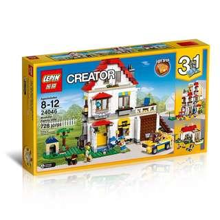 LEPIN™ 24046 Creator 3in1 Modular Family Villa
