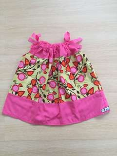 Pink & Yellow Baby Dress