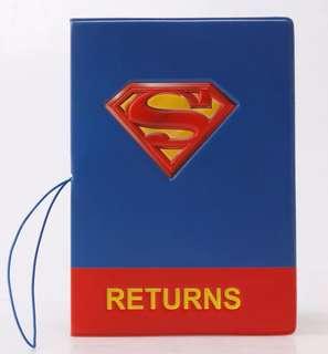 Superman Passport cover