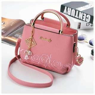PREMIUM ROSE SLING BAG