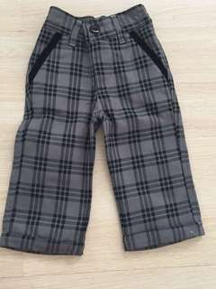 Checkered Baby Pants