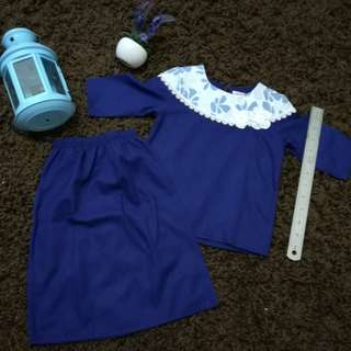 Lara Alana Baju Kurung 0-1 Month