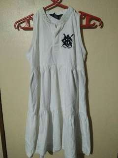Ralph Lauren white dress 6 to 7 yrs.old