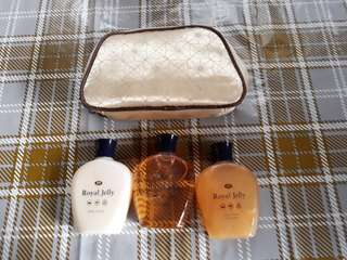 Royal Jelly travelling set by Boots