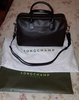 Longchamp 2.0 Brown with Black Strap Authentic